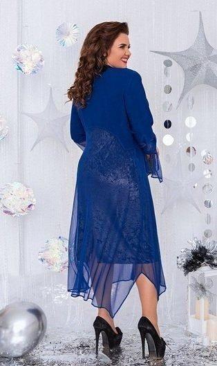 Нарядное платье-двойка 1461