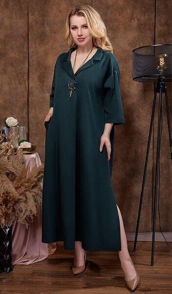 Платье свободного силуэта 1485