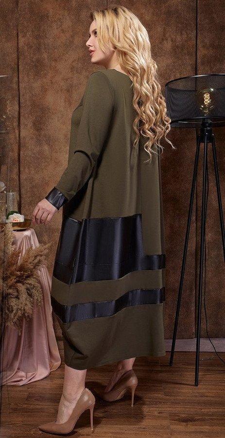 Платье свободного силуэта 1475