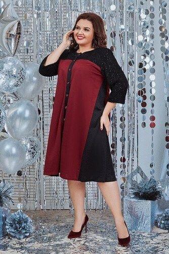 Платье с пайеткой 1442