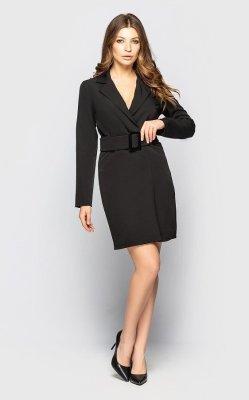 Платье-пиджак 4107 (черное)