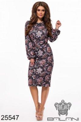 Платье -25547 черный