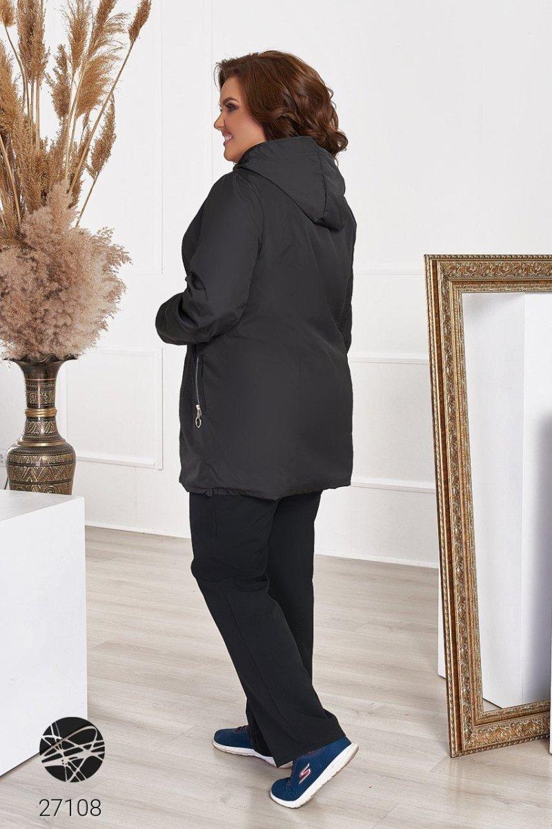 Куртка-ветровка 27108 черный