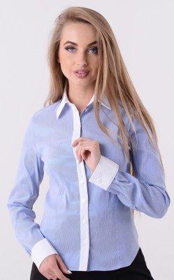 Рубашка в полосатый принт 3315