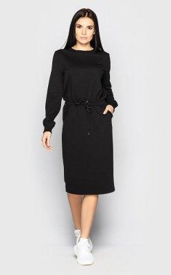Спортивное платье 4089 (черное)