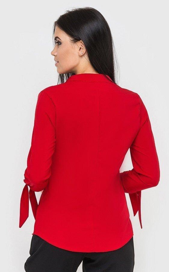 Стильная рубашка красная