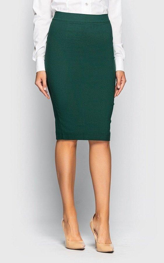 Стильная юбка-карандаш 1001 (зеленая)