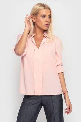 Свободная летняя рубашка 3904 (персиковая)