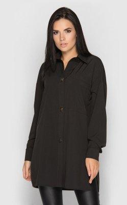 Свободная рубашка (черная)