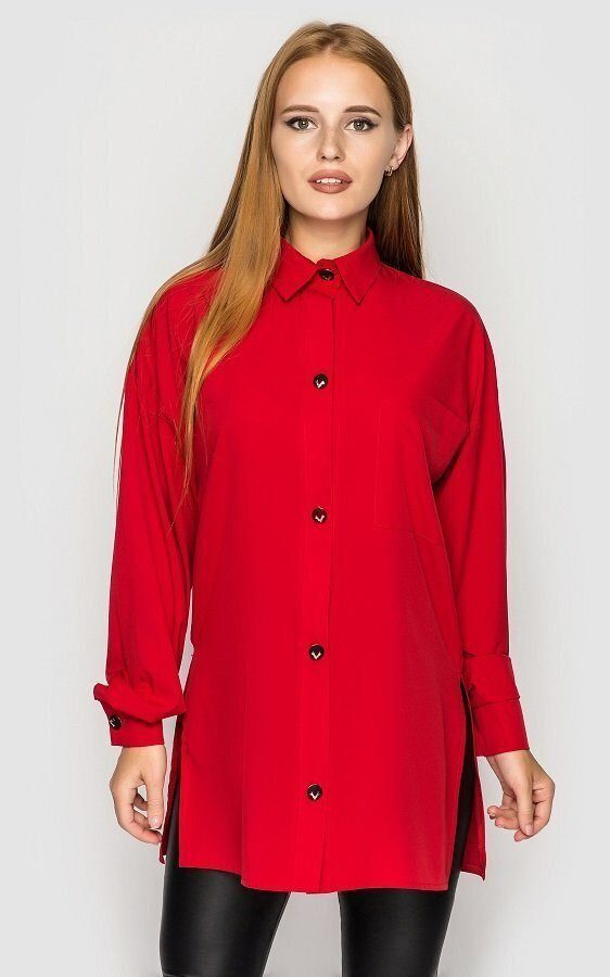 Свободная рубашка (красная)