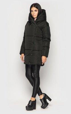 Удлиненная куртка (черная)