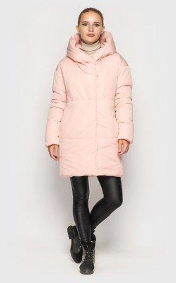 Удлиненная куртка (розовая)
