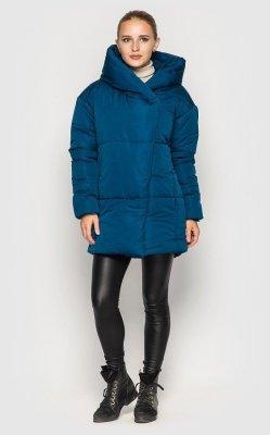 Удлиненная куртка (синяя)