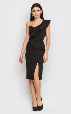 Вечернее платье 3871 (черное)
