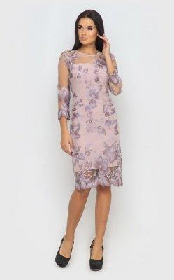 Вечернее платье 4069 (фиолетовое)