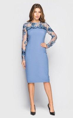 Вечернее платье 4063 (синее)