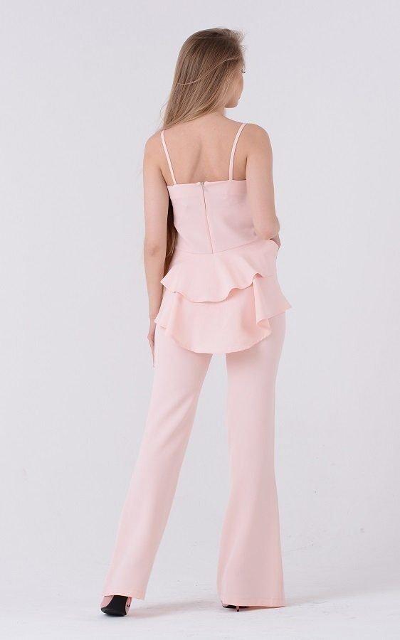 Яркий костюм баска (розовый)