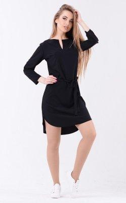 Яркое платье мини 3631 чёрный